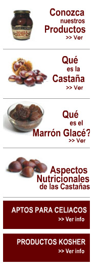 productos marron glace